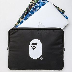 Bape Black Utility Bag